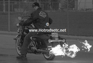 motorcycle flame thrower