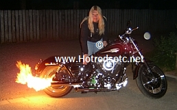 motorcycle flame kit